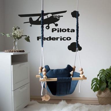 Wandtattoo & Name Pilota
