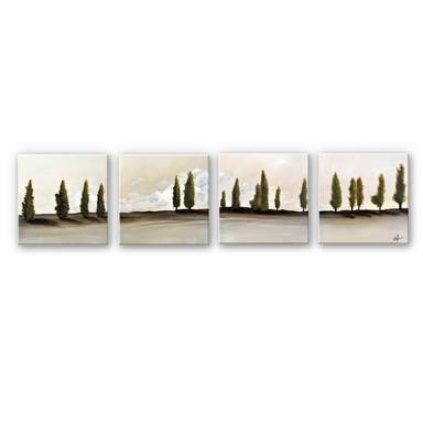 Hartschaumbild Fedrau - Frieden (4-teilig) - Bild 1