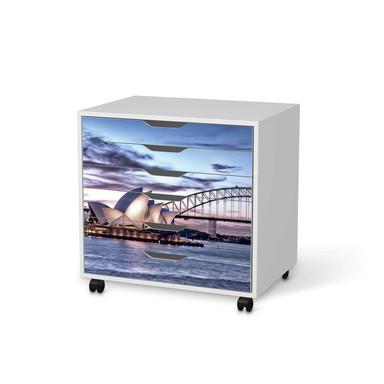 Möbelfolie IKEA Alex Rollcontainer 6 Schubladen - Sydney