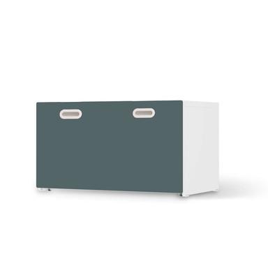 Möbelfolie IKEA Stuva / Fritids Bank mit Kasten - Blaugrau Light