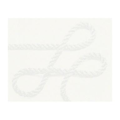 Mustertapeten Lars Contzen Vliestapete Amour de la Mer Signalweiss, Telegrau