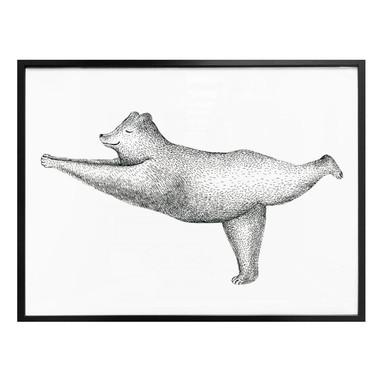 Poster Kvilis - Yoga Bär 02