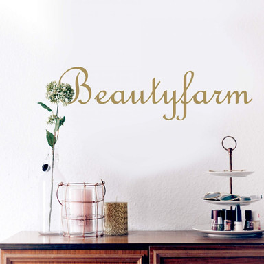 Wandtattoo Beautyfarm 1