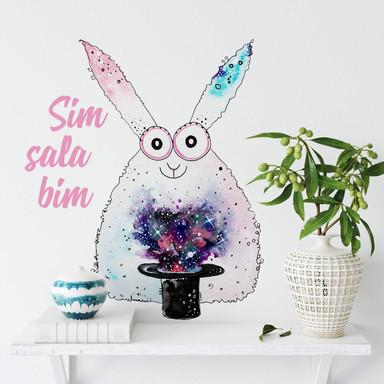 Wandtattoo Hagenmeyer - Magisches Kaninchen