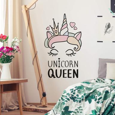 Wandtattoo Kvilis - Unicorn Queen