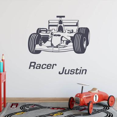 Wandtattoo Name Racer