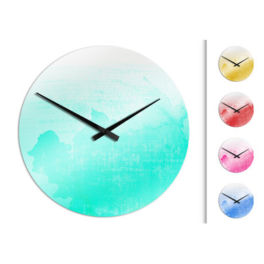 Wanduhr Ombre Chic