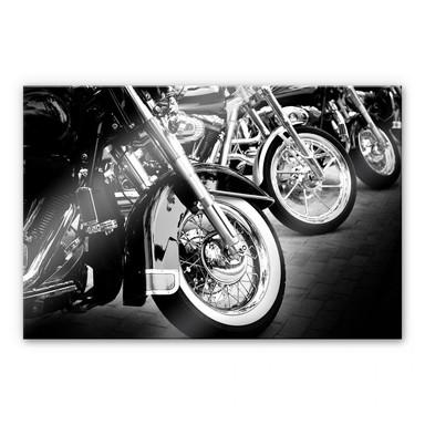 Acrylglasbild Motorcycle Wheels