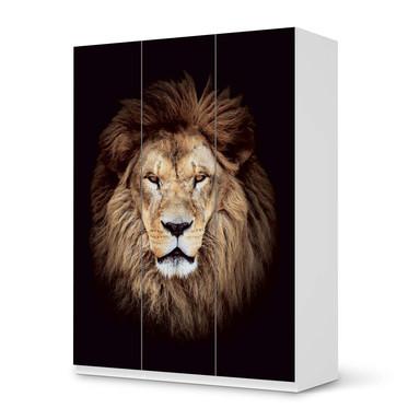 Folie IKEA Pax Schrank 201cm Höhe - 3 Türen - Wild Eyes