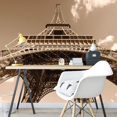 Fototapete Eiffelturm Perspektive - 336x260cm - Bild 1