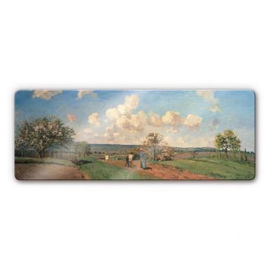 Glasbild Pissarro - Frühling