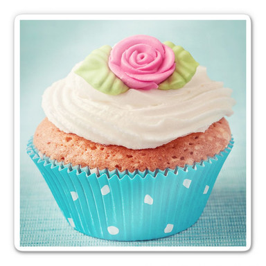 Glasbild Sweet Cupcake
