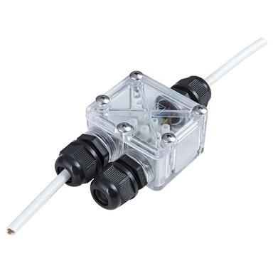 Kabelverbinder IP67 in Weiss 2 Ausgänge
