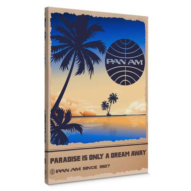 Leinwand PAN AM - Dream in Paradise