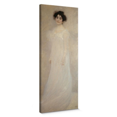 Leinwandbild Klimt - Bildnis Serena Lederer