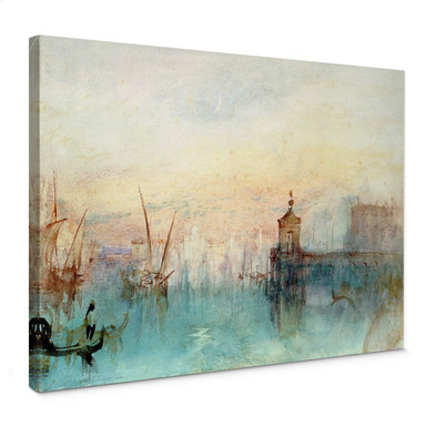 Leinwandbild Turner - Venedig mit erster Mondsichel