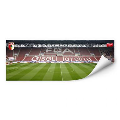 Wallprint FC Augsburg Stadion Tribüne Panorama