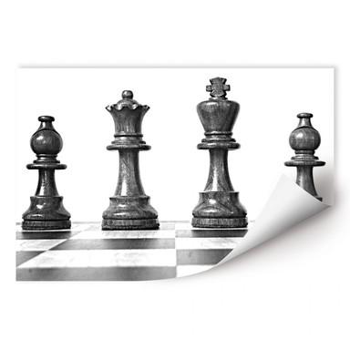 Wallprint Schach Symmetrie