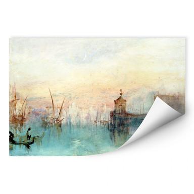 Wallprint Turner - Venedig mit erster Mondsichel