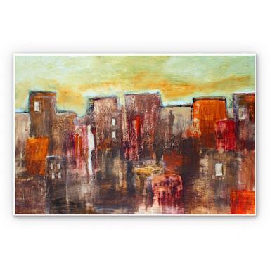 Wandbild Melz - Citylife