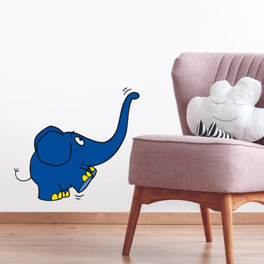 Wandsticker Elefant 11