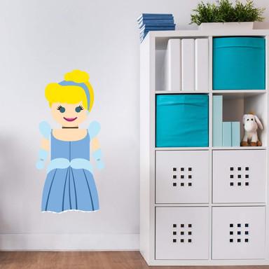 Wandtattoo Gomes - Cinderella Spielzeug