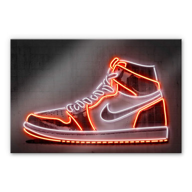 Acrylglasbild Mielu - Sneaker