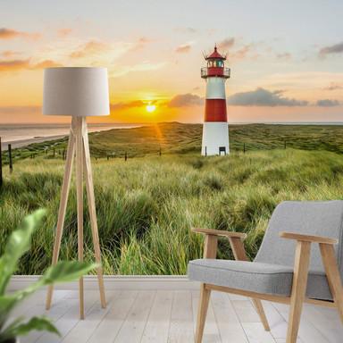 Fototapete Leuchtturm auf Sylt