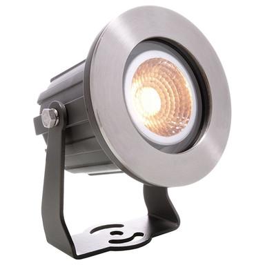 LED Wand- und Bodenstrahler Power Spot COB IV in Anthrazit und Transparent 4.5W 360lm IP65