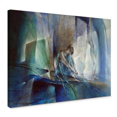 Leinwandbild Schmucker - Im blauen Raum