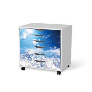 Möbelfolie IKEA Alex Rollcontainer 6 Schubladen - Everest