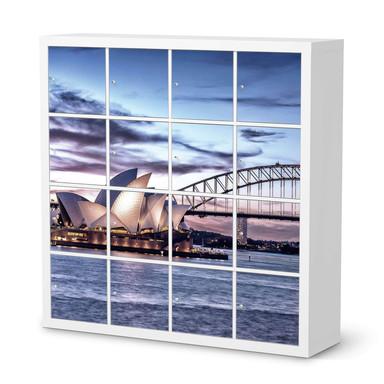 Möbelfolie IKEA Expedit Regal 16 Türen - Sydney
