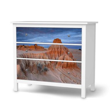 Möbelfolie IKEA Hemnes Kommode 3 Schubladen - Outback Australia