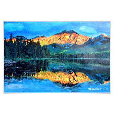 Poster Bleichner - Kanada - Der Jasper Nationalpark