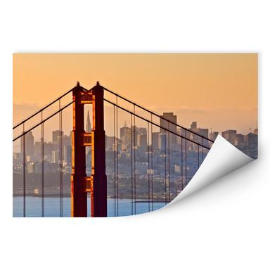 Wallprint Sundown over San Francisco