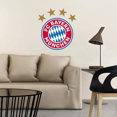 Wandsticker FC Bayern München Logo