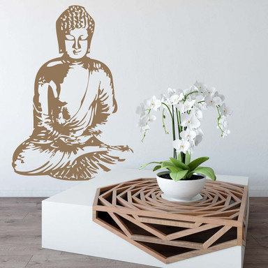 Wandtattoo Buddha 2