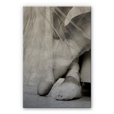 Alu Dibond Bild Ballerina