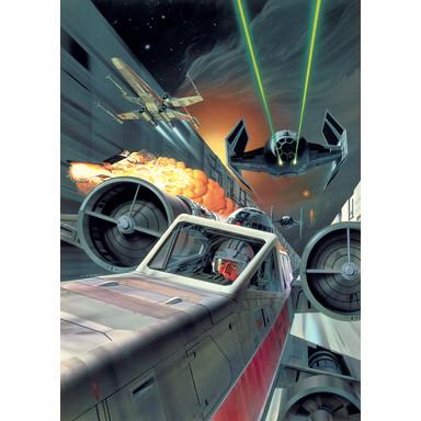 Fototapete Star Wars Classic Death Star Trench Run