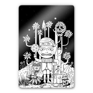 Glasbild Drawstore - In the Woods