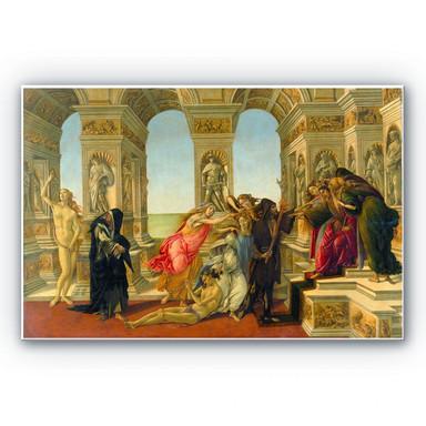 Hartschaumbild Botticelli - Die Verleumdung des Apelles