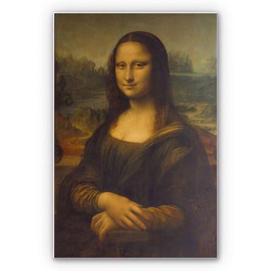 Hartschaumbild Da Vinci - Mona Lisa