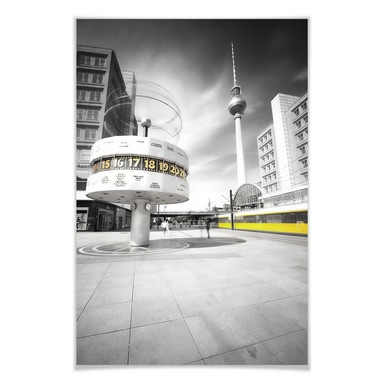 Poster Berlin Alexanderplatz
