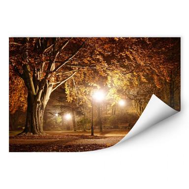 Wallprint Herbst im Park