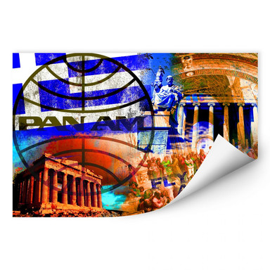 Wallprint PAN AM - Athen