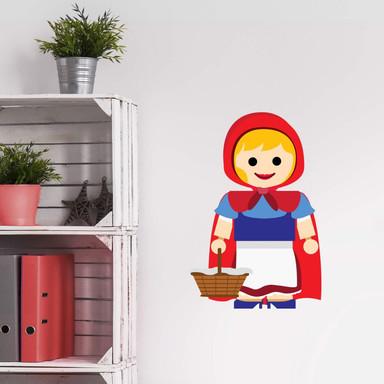 Wandtattoo Gomes - Rotkäppchen Spielzeug