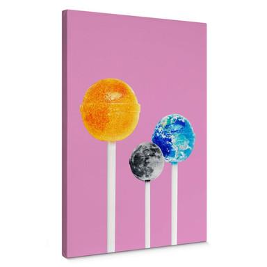 Leinwandbild Loose - Lollipops