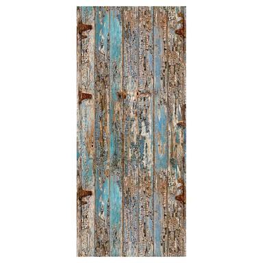 Livingwalls selbstklebendes Pop.up Panel 2 beige, blau, grau