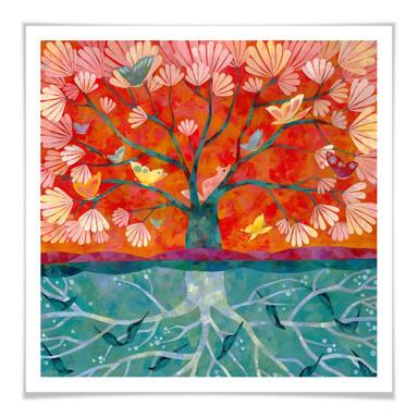 Poster Blanz - Baum des Lebens