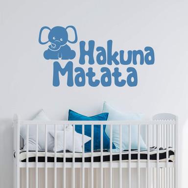 Wandtattoo Hakuna Matata 3